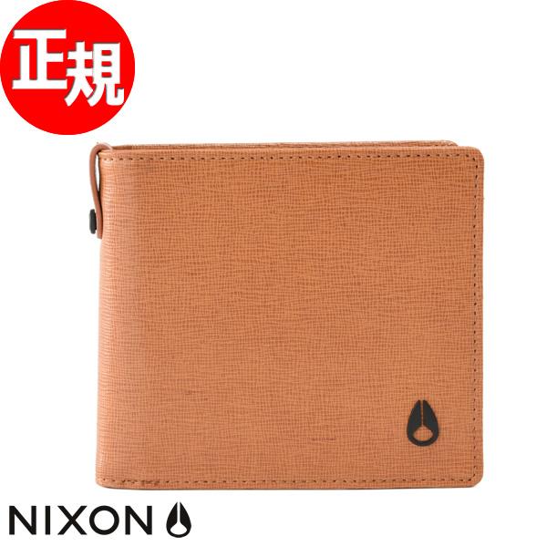 ニクソン NIXON 財布 ミルズ2 ウォレット MILLS II WALLET キャメル NC27272781-00