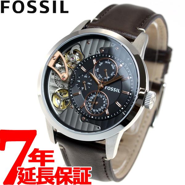 【5日0時~♪10%OFFクーポン&店内ポイント最大51倍!5日23時59分まで】フォッシル FOSSIL 腕時計 メンズ 自動巻き メカニカル MECHANICAL ME1163
