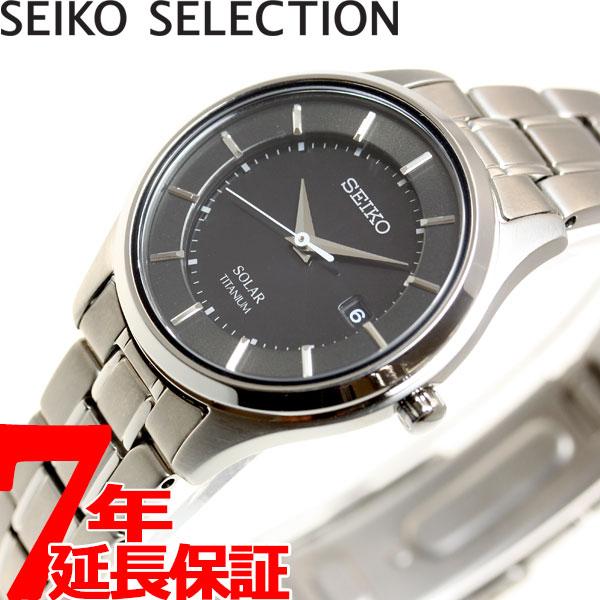 セイコー セレクション SEIKO SELECTION ソーラー 腕時計 ペアモデル レディース STPX043