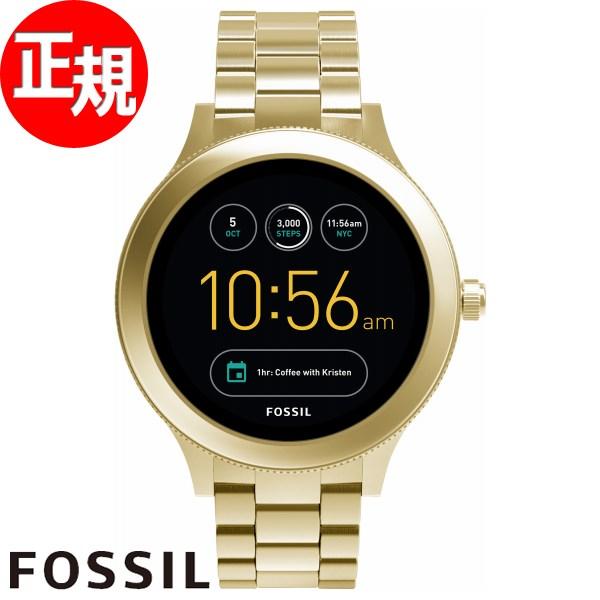 【SHOP OF THE YEAR 2018 受賞】フォッシル FOSSIL Q スマートウォッチ ウェアラブル 腕時計 レディース ベンチャー Q VENTURE FTW6006