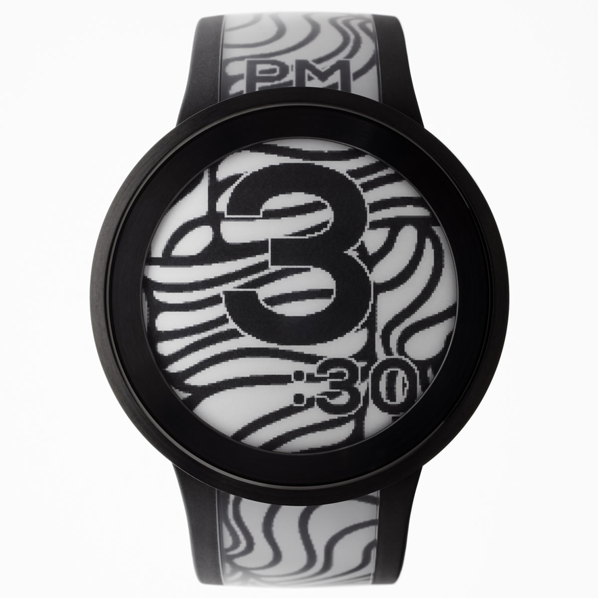 ソニー フェスウォッチ Sony FES Watch U スマートフォン連動ウォッチ 電子ペーパー 腕時計 メンズ レディース プレミアムブラック FES-WA1-B
