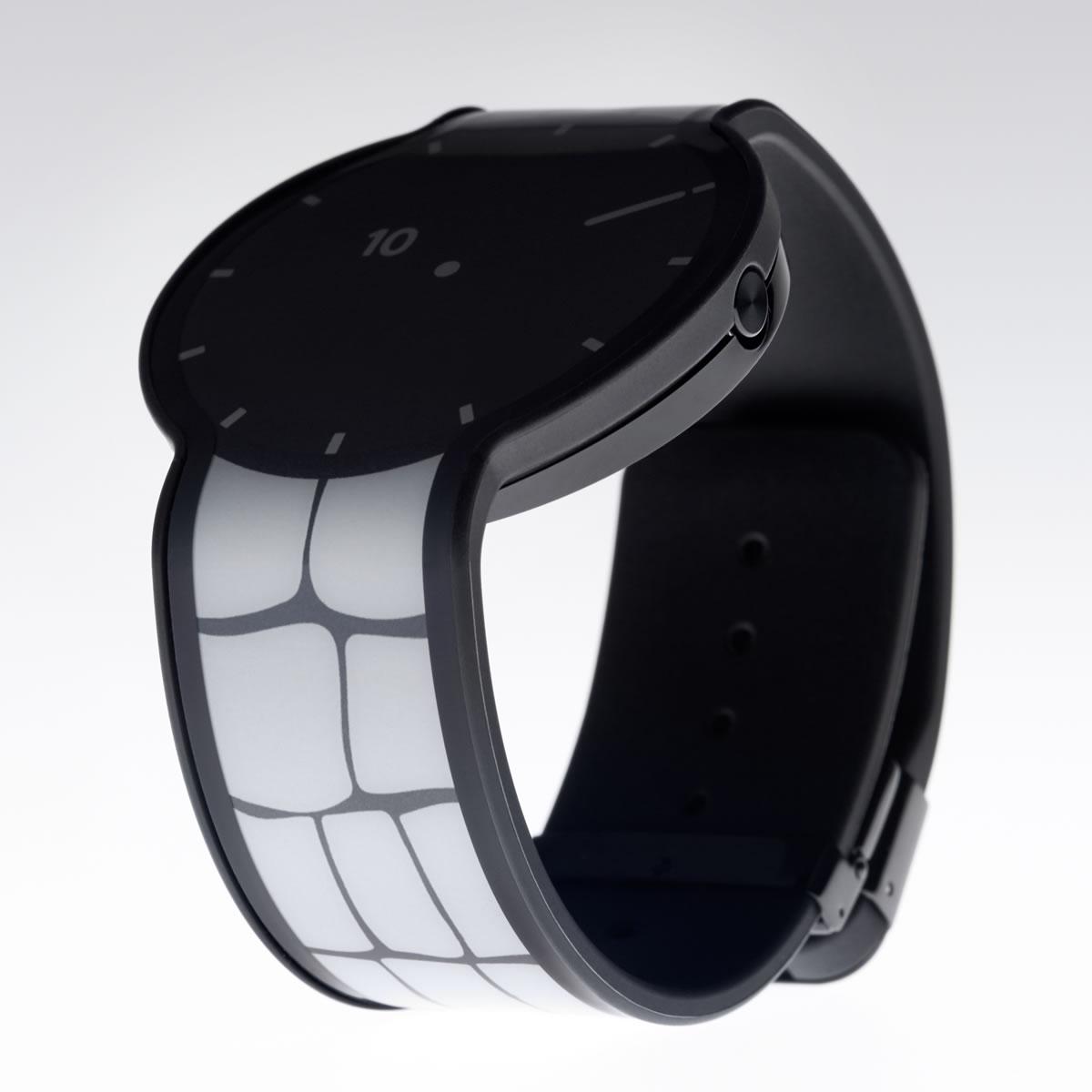 ソニー フェスウォッチ Sony FES Watch 電子ペーパー 腕時計 メンズ レディース ブラック FES-WM1