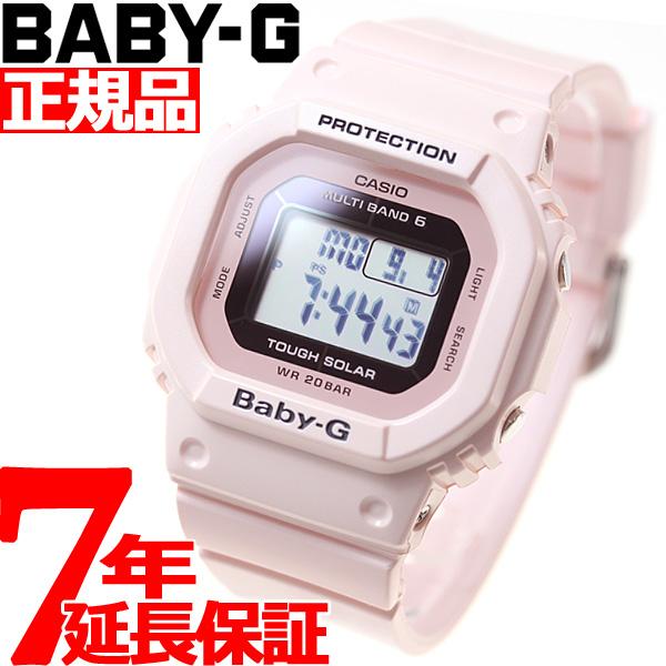 【5日0時~♪2000円OFFクーポン&店内ポイント最大51倍!5日23時59分まで】カシオ ベビーG CASIO BABY-G Clean Style 腕時計 レディース BGD-5000-4BJF