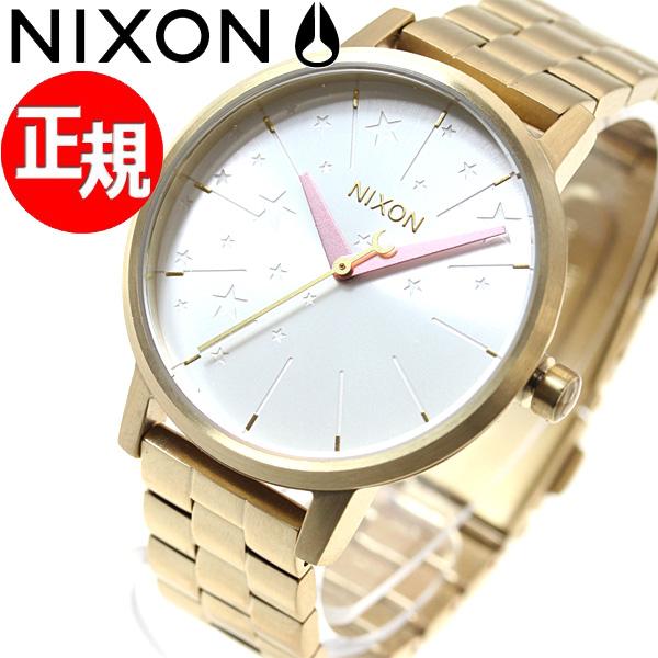 ニクソン NIXON ケンジントン KENSINGTON 腕時計 レディース ゴールド/ソフトピンク/LH NA0992774-00