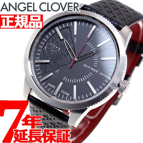 【5日0時~♪最大2000円OFFクーポン&店内ポイント最大51倍!5日23時59分まで】エンジェルクローバー AngelClover 腕時計 メンズ ナンバーナイン×エンジェルクローバー NN42SBK-BK