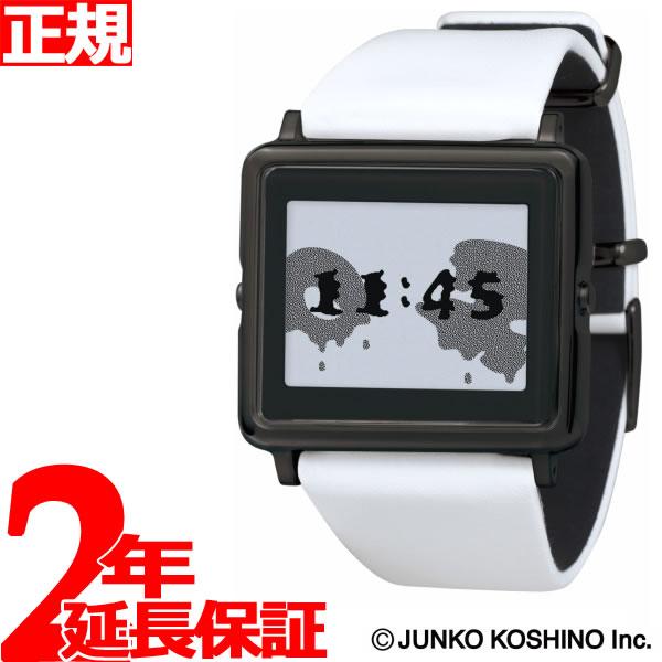 エプソン スマートキャンバス EPSON smart canvas JUNKO KOSHINO 春夏秋冬ブラック 腕時計 メンズ レディース W1-JK10120