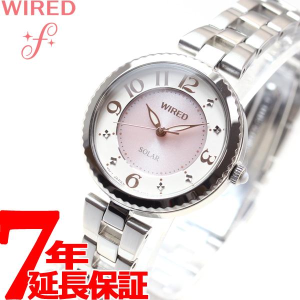 【SHOP OF THE YEAR 2018 受賞】セイコー ワイアード エフ SEIKO WIRED f ソーラー 腕時計 レディース AGED085