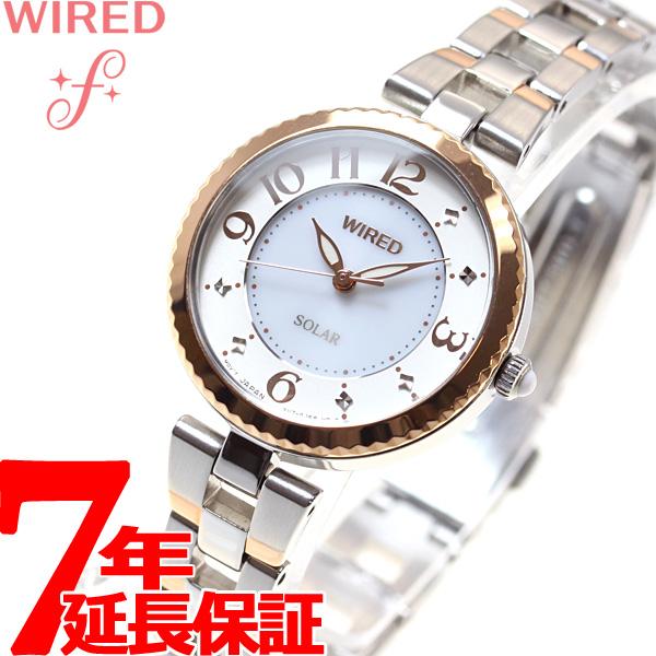 セイコー ワイアード エフ SEIKO WIRED f ソーラー 腕時計 レディース AGED087