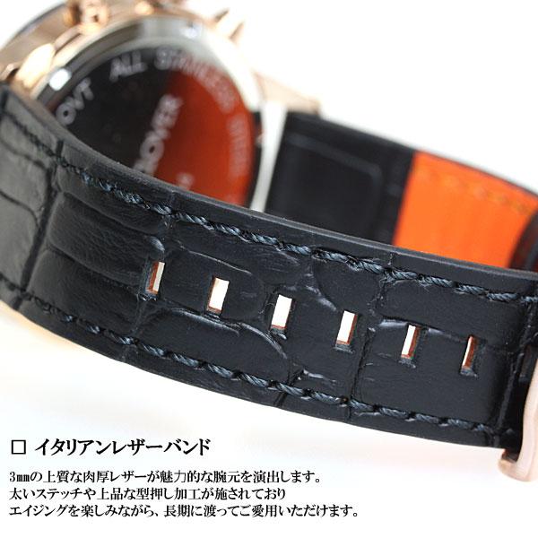 エンジェルクローバー ANGEL CLOVER 腕時計 メンズ ルーチェ LUCE クロノグラフ LU44PBK-BL