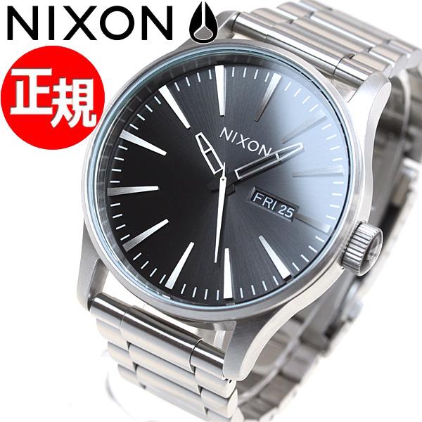 【お買い物マラソンは当店がお得♪本日20より!】ニクソン NIXON セントリー SS SENTRY SS 腕時計 メンズ ブラックサンレイ NA3562348-00