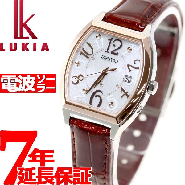 セイコー ルキア SEIKO LUKIA 電波 ソーラー 電波時計 腕時計 レディース SSVW094【36回無金利】