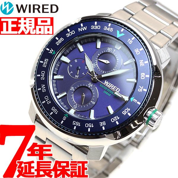 セイコー ワイアード SEIKO WIRED 腕時計 メンズ ソリディティ SOLIDITY AGAT416