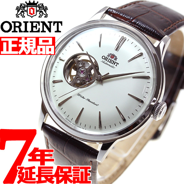 【5日0時~♪2000円OFFクーポン&店内ポイント最大51倍!5日23時59分まで】オリエント ORIENT クラシック CLASSIC 腕時計 メンズ 自動巻き オートマチック メカニカル セミスケルトン RN-AG0005S