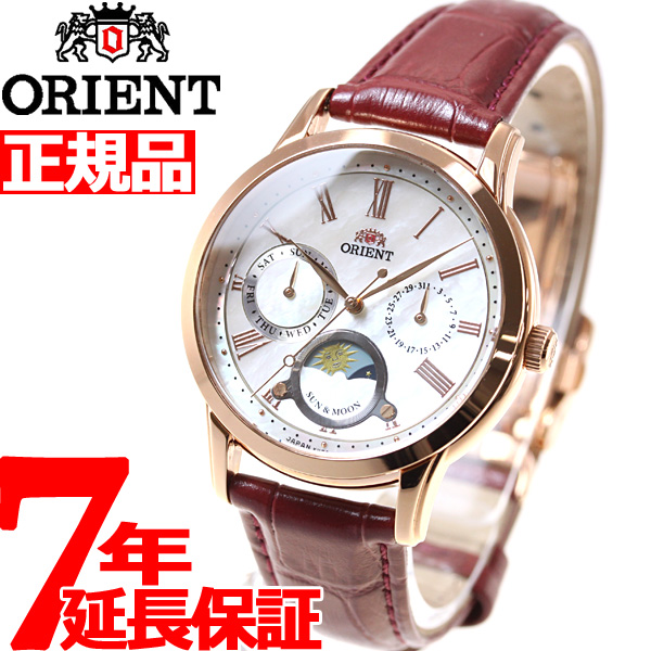 【SHOP OF THE YEAR 2018 受賞】オリエント ORIENT クラシック CLASSIC 腕時計 レディース サン&ムーン RN-KA0001A