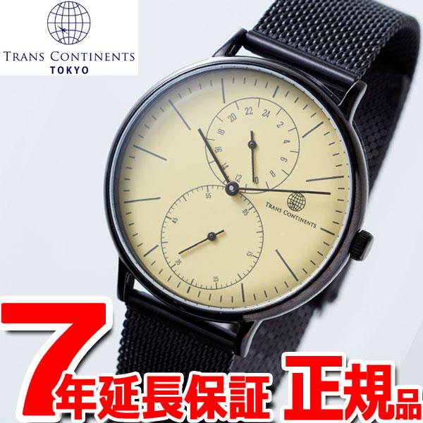 【お買い物マラソンは当店がお得♪本日20より!】トランスコンチネンツ TRANS CONTINENTS 腕時計 メンズ レディース TC03BIVSS