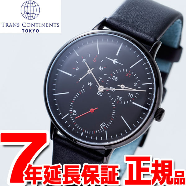 トランスコンチネンツ TRANS CONTINENTS 腕時計 メンズ レディース TC04BBKBK