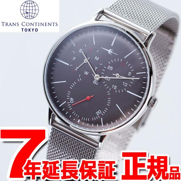 【お買い物マラソンは当店がお得♪本日20より!】トランスコンチネンツ TRANS CONTINENTS 腕時計 メンズ レディース TC04SGYSS