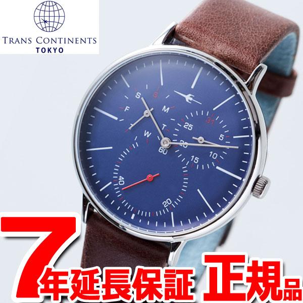 【SHOP OF THE YEAR 2018 受賞】トランスコンチネンツ TRANS CONTINENTS 腕時計 メンズ レディース TC04SNVBR