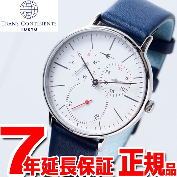 トランスコンチネンツ TRANS CONTINENTS 腕時計 メンズ レディース TC04SWHNV