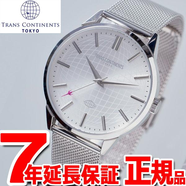 トランスコンチネンツ TRANS CONTINENTS 腕時計 メンズ レディース TC05PT