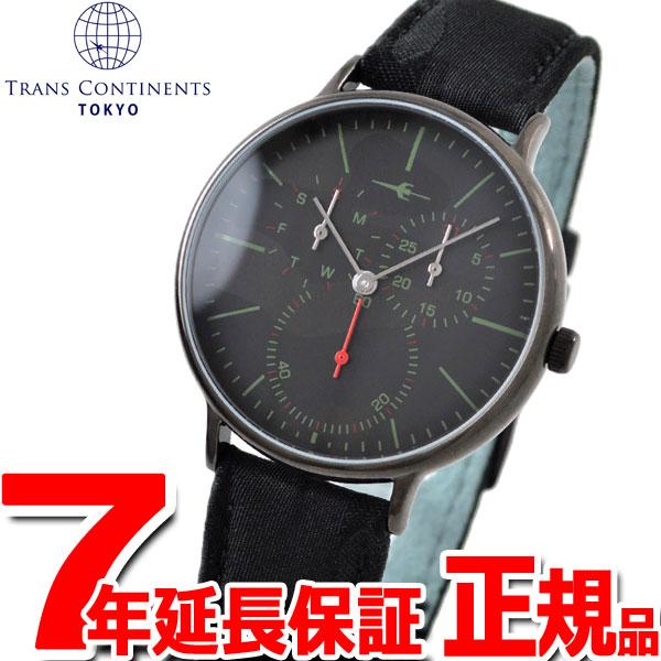 トランスコンチネンツ TRANS CONTINENTS 腕時計 メンズ レディース TC07BBKBK