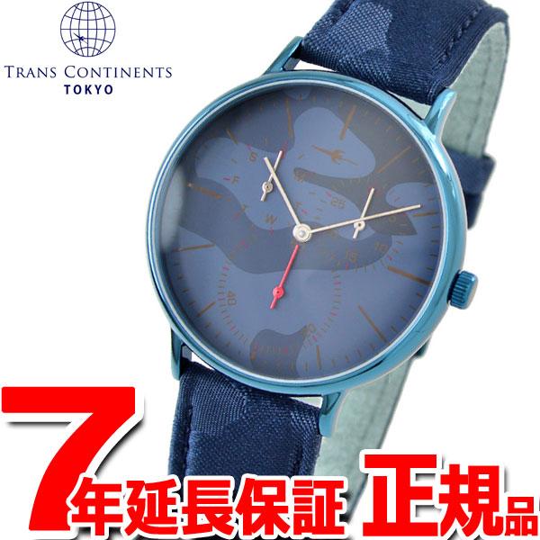 トランスコンチネンツ TRANS CONTINENTS 腕時計 メンズ レディース TC07BNVNV