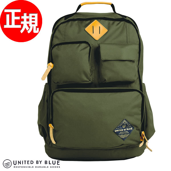 【SHOP OF THE YEAR 2018 受賞】ユナイテッドバイブルー UNITED BY BLUE リュック バックパック オリーブ 24L ARID BACKPACK OLIVE