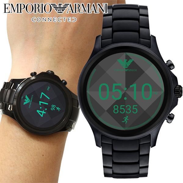 エンポリオアルマーニ EMPORIO ARMANI コネクテッド スマートウォッチ ウェアラブル 腕時計 メンズ アルベルト ALBERTO DISPLAY ART5002