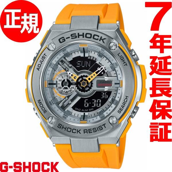 G-SHOCK G-STEEL カシオ Gショック Gスチール CASIO 腕時計 メンズ GST-410-9AJF【2018 新作】
