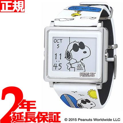 EPSON smart canvas PEANUTS スヌーピー変装シリーズ ジョー・クール 腕時計 メンズ レディース W1-PN20510