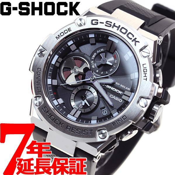 ニールならポイント最大35倍!30日23時59分まで!G-SHOCK G-STEEL カシオ Gショック Gスチール CASIO ソーラー 腕時計 メンズ タフソーラー GST-B100-1AJF