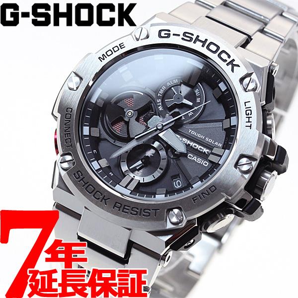 明日20時~ 店内ポイント最大47倍のビッグチャンス!G-SHOCK G-STEEL カシオ Gショック Gスチール CASIO ソーラー 腕時計 メンズ タフソーラー GST-B100D-1AJF