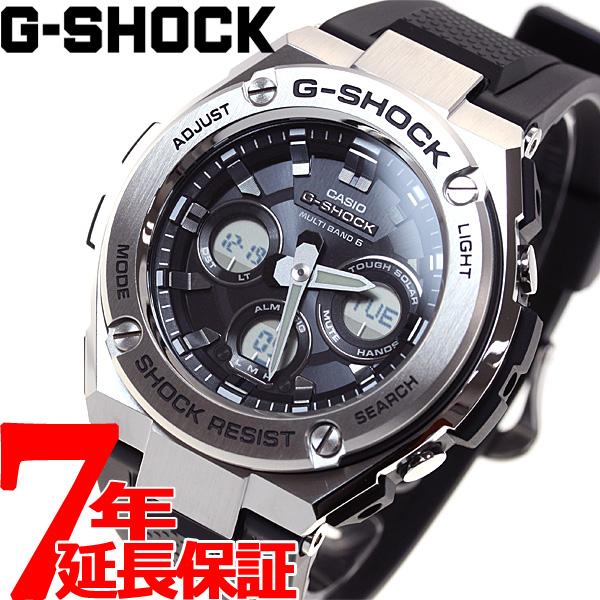 CASIO メンズ 電波 腕時計 GST-W310-1AJF ソーラー Gショック G-STEEL 電波時計 Gスチール ニールならポイント最大35倍!30日23時59分まで!G-SHOCK カシオ タフソーラー