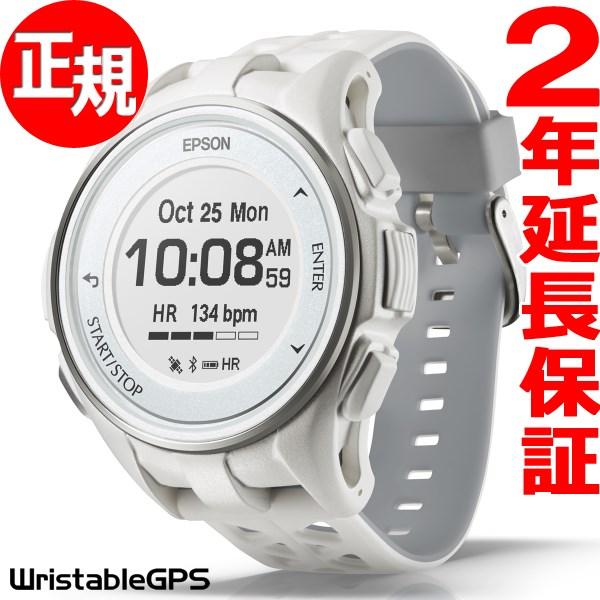 1000円OFFクーポンは31日23:59まで! エプソン リスタブルGPS ランニングギア EPSON WristableGPS スマートウォッチ 腕時計 メンズ J-300W