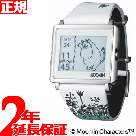【SHOP OF THE YEAR 2018 受賞】エプソン スマートキャンバス EPSON smart canvas MOOMIN ムーミン・ムーミン 腕時計 メンズ レディース W1-MM10110