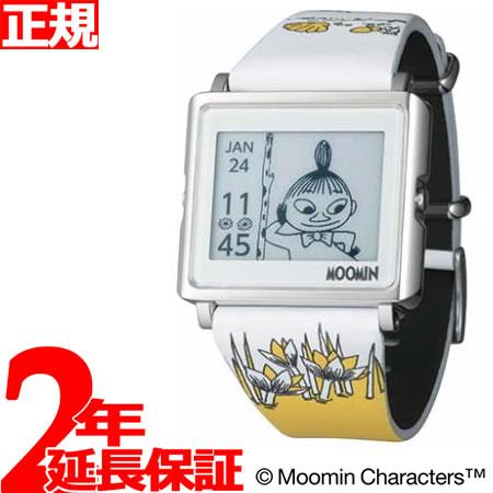 EPSON smart canvas MOOMIN ムーミン・リトルミイ 腕時計 メンズ レディース W1-MM10310