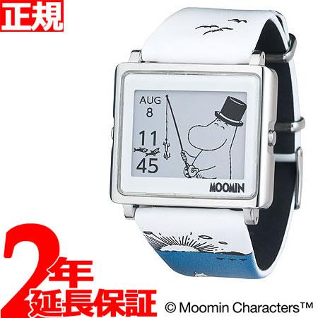 EPSON smart canvas MOOMIN ムーミン・ムーミンパパ 腕時計 メンズ レディース W1-MM20410