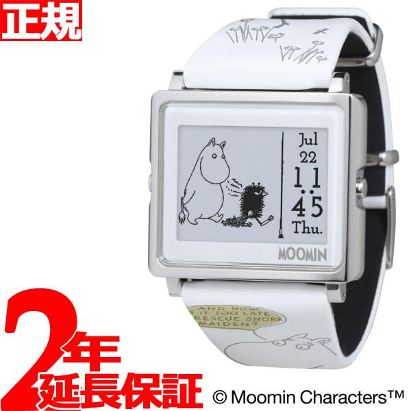 EPSON smart canvas MOOMIN ムーミンコミックス 一人ぼっちのムーミン 腕時計 メンズ レディース W1-MM50110