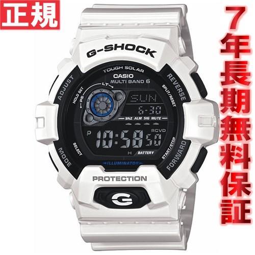 G-SHOCK 電波 ソーラー 電波時計 ホワイト 白 Gショック 腕時計 メンズ G-SHOCK ソーラー GW-8900A-7JF