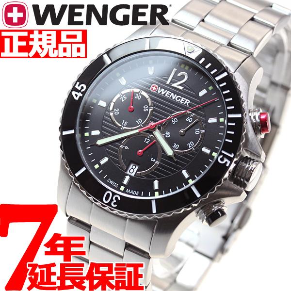 ウェンガー WENGER 腕時計 メンズ シーフォース クロノ Sea Force Chrono 01.0643.109
