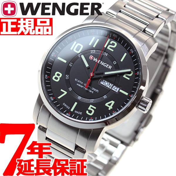 【お買い物マラソンは当店がお得♪本日20より!】ウェンガー WENGER 腕時計 メンズ アティチュード デイデイト Attitude Day&Date 01.1541.102