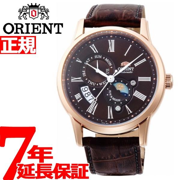 オリエント ORIENT クラシック CLASSIC 腕時計 メンズ 自動巻き オートマチック メカニカル サン&ムーン RN-AK0002Y【2018 新作】