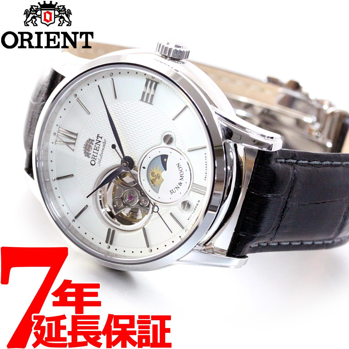 オリエント ORIENT クラシック CLASSIC 腕時計 メンズ 自動巻き オートマチック メカニカル サン&ムーン RN-AS0003S【2018 新作】