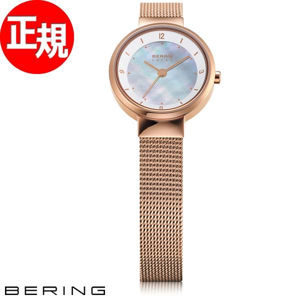 ベーリング BERING ソーラー 腕時計 レディース 14424-366