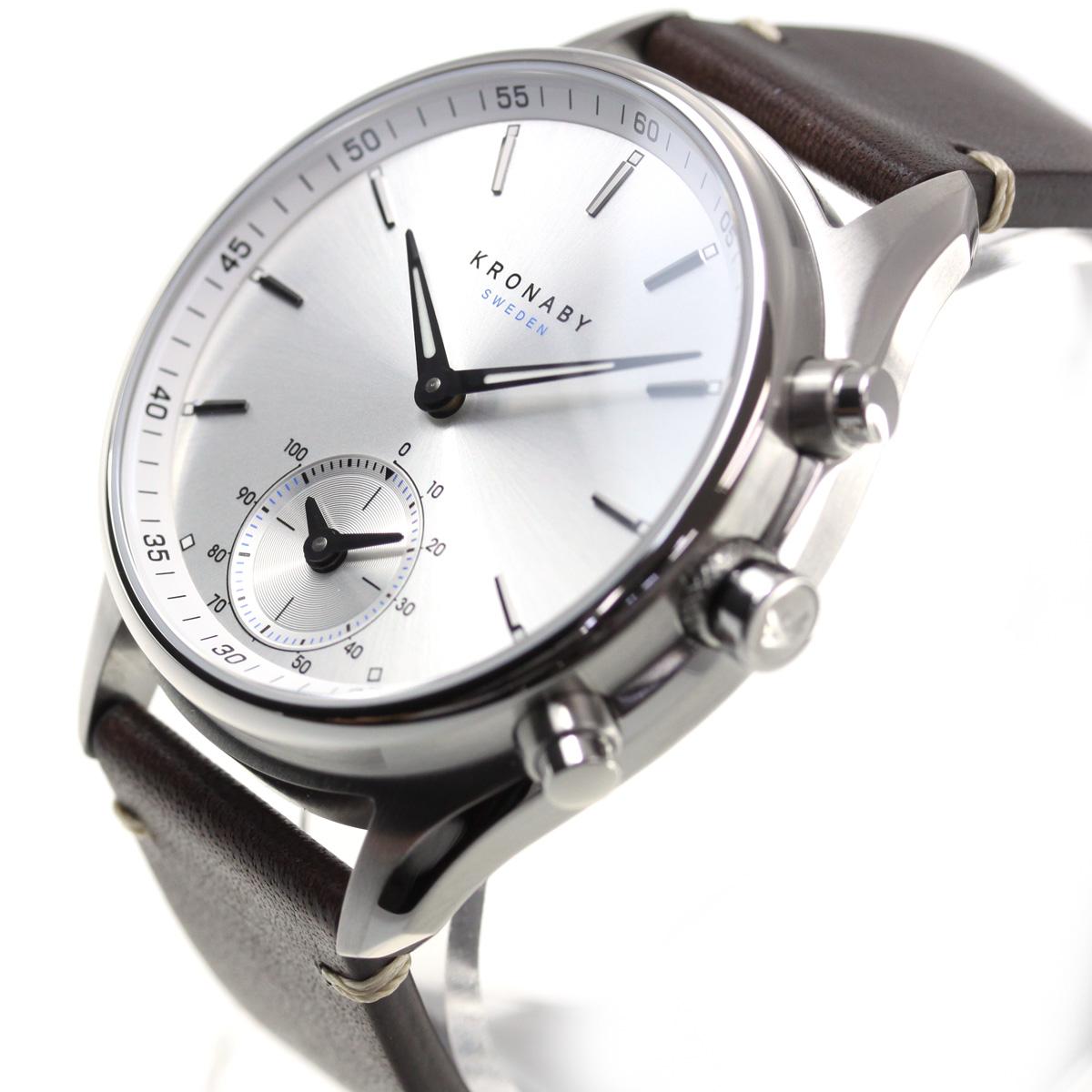 クロナビー KRONABY セーケル SEKEL スマートウォッチ 腕時計 メンズ A1000-1902