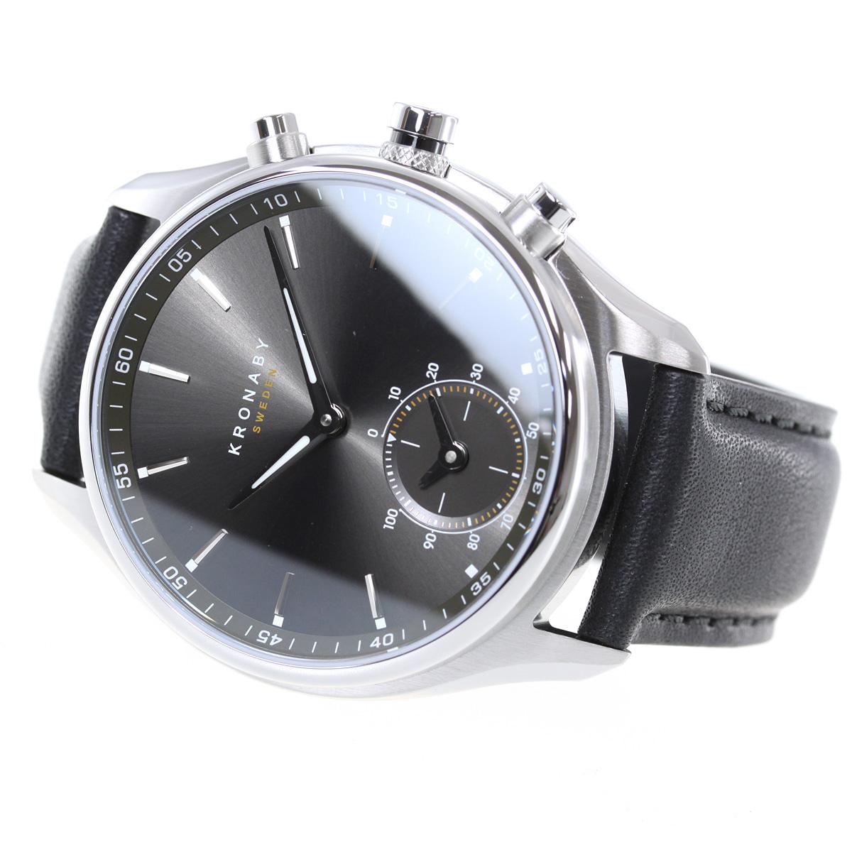 クロナビー KRONABY セーケル SEKEL スマートウォッチ 腕時計 メンズ A1000-1904
