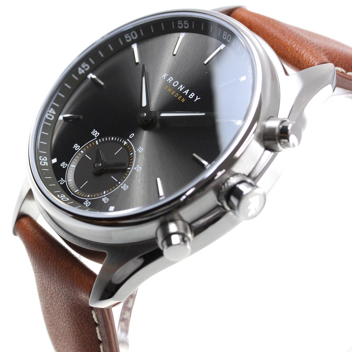 クロナビー KRONABY セーケル SEKEL スマートウォッチ 腕時計 メンズ A1000-1905