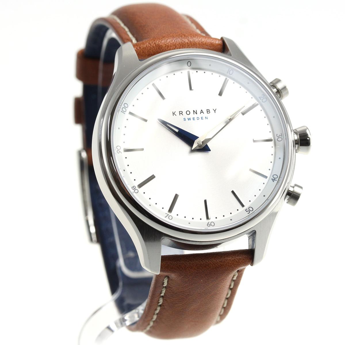 クロナビー KRONABY セーケル SEKEL スマートウォッチ 腕時計 メンズ A1000-1923