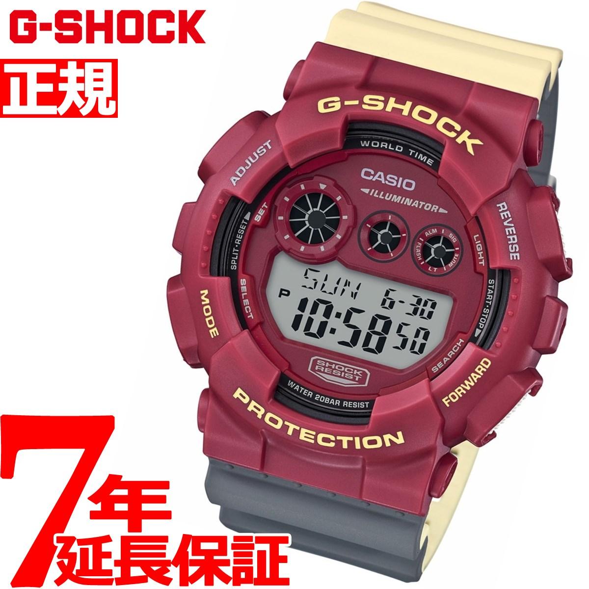 G-SHOCK 限定モデル 腕時計 メンズ GD-120NC-4JF【2018 新作】