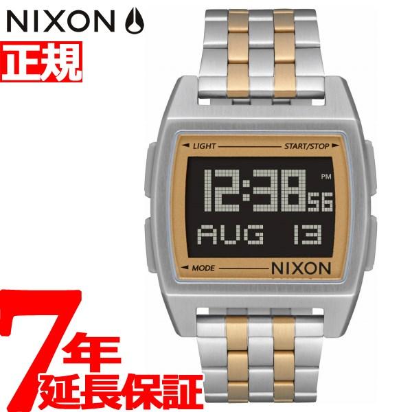 ニクソン NIXON ベース BASE 腕時計 メンズ レディース SILVER/LIGHT GOLD NA11071431-00【2018 新作】